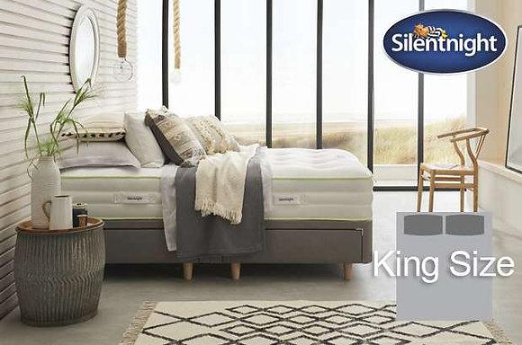 Silentnight Eco Comfort Breathe 2000 Mirapocket King Size Divan Bed