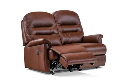 Sherborne Keswick Leather Small 2 Seater Power Recliner Sofa