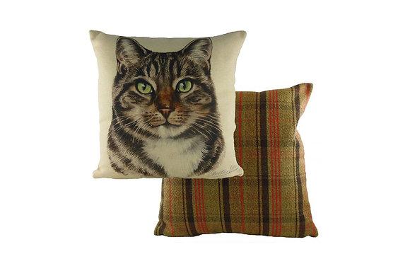 Waggydogz Tabby Cat Cushion