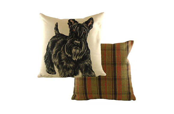 Waggydogz Scottish Terrier Cushion