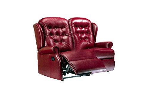 Sherborne Lynton Leather 2 Seater Manual Recliner Sofa