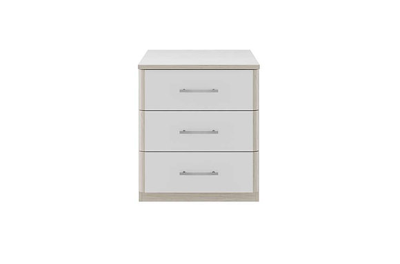 Kingstown Azure 3 Drawer Wide Chest