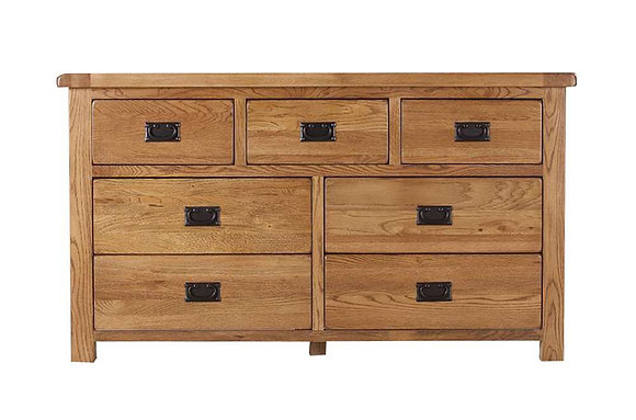 Calgary 3 Over 4 Drawer Chest
