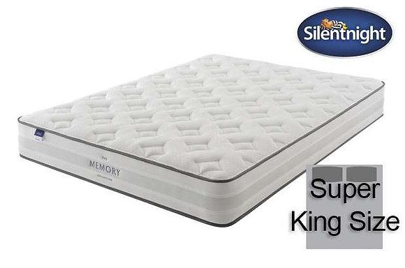 Silentnight Ruscha Miracoil Super King Size Mattress with Memory Foam