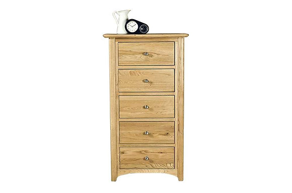 Alberta 5 Drawer Wellington Chest