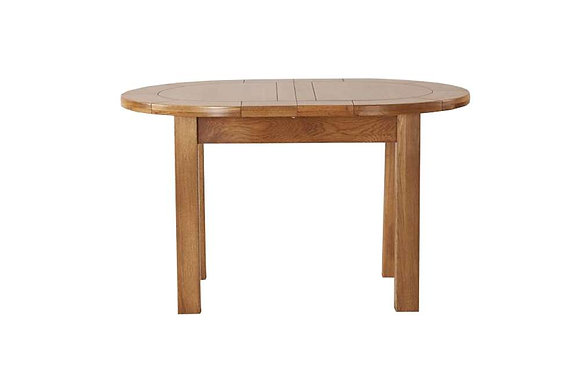 Calgary Small D-End Extending Dining Table
