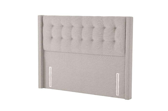 Silentnight Bloomsbury Floorstanding Fabric Upholstered Headboard