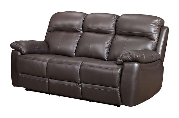 Aston Leather 3 Seater Sofa