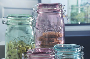 Kilner Coloured Jars and Bottles