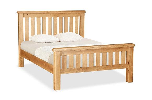 Brecon Slatted Wooden Frame Bedstead