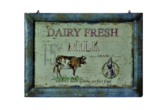 Dairy Fresh Hanging Picture