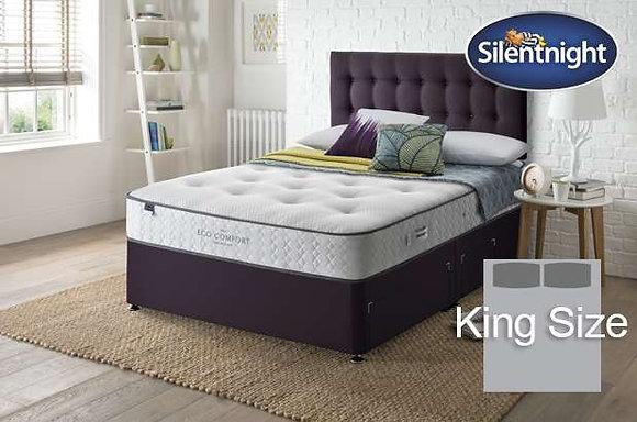 Silentnight Verdi Eco Comfort Mirapocket King Size Divan Bed