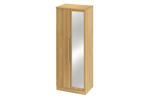 Sherwood 2ft6in Double Wardrobe with Mirror