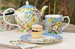 Katie Alice English Garden - Plates, Mugs, Teapot, Cups