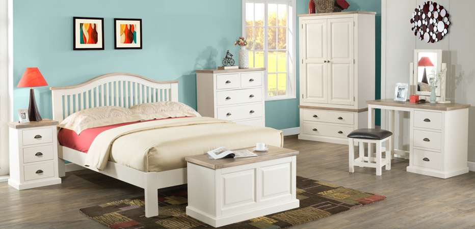 Bedroom Furniture - Wardrobes, chest, bedside, desk, dressing table, stool, mirror