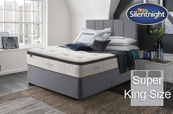 Silentnight Wordsworth Mirapocket Super King Size Divan Bed with Geltex
