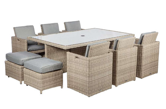 Royalcraft Wentworth 6-10 Seater Cube Set