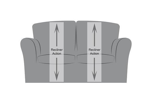 Suffolk 2 Seater Recliner Sofa