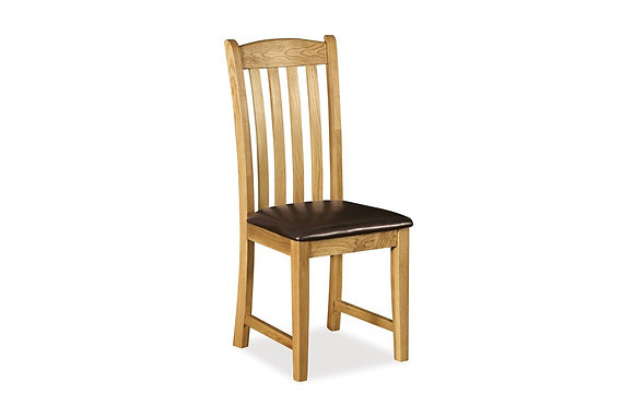 Brecon Dining Chair with Covered Seat