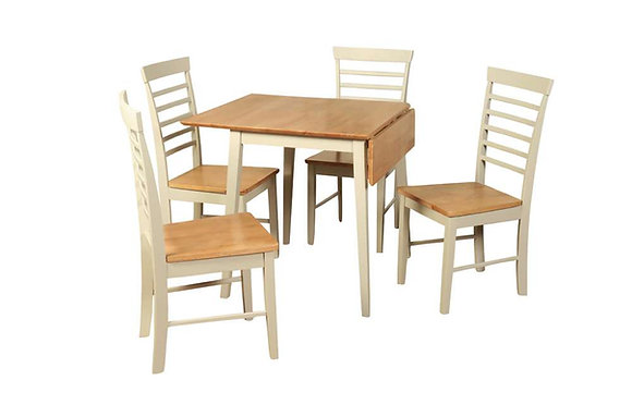 Berlin Square Drop Leaf Dining Table