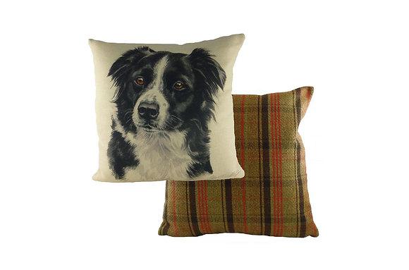 Waggydogz Border Collie Cushion