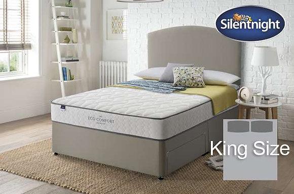 Silentnight Dumont Eco Comfort Miracoil King Size Divan Bed