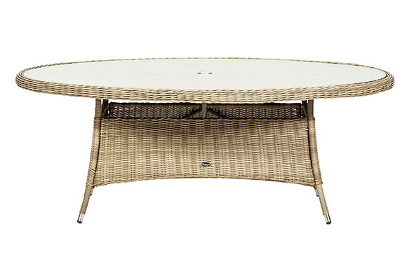 Royalcraft Wentworth 240x120cm Oval Table