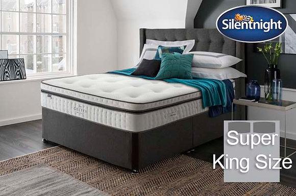 Silentnight Picasso Mirapocket Super King Size Divan Bed with Geltex