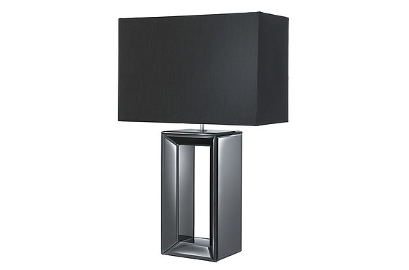 Searching Lighting Black Mirror Reflection Table Lamp