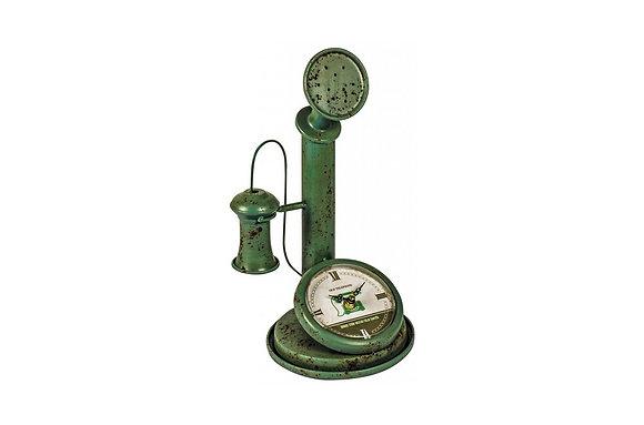 Air Pump Shelf Clock