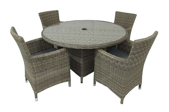 Royalcraft Wentworth 4 Seater Carver Set