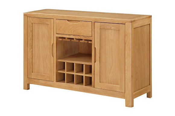 Heartwood Large Sideboard with Wine Rack