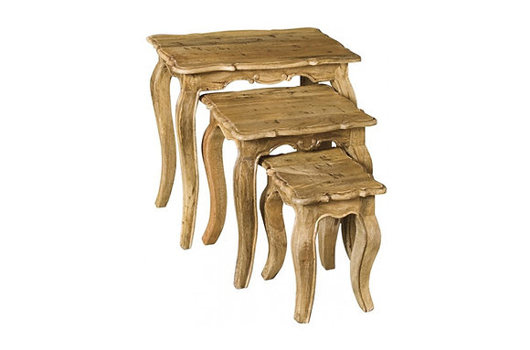 Chilham Nest of 3 Tables