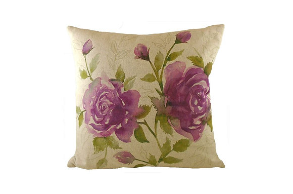 Jardin Rose Cushion