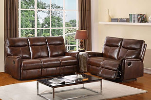 Hydeline Graham Leather 3 Seater Recliner Sofa | Styleforce Home & Furniture Store | South Wales