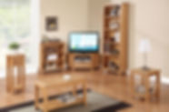 Hartford Oak Living & Dining Furniture | Sideboard, tables, chairs, coffee, tv, unit, lamp, side, bookcase, console,