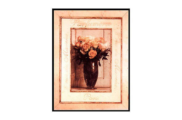 Peached Rose Vase Picture