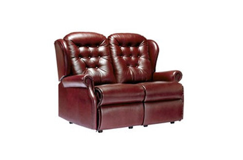 Sherborne Lynton Leather Small 2 Seater Sofa