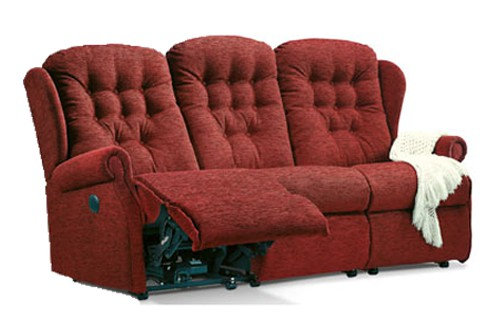 Sherborne Lynton 3 Seater Manual Recliner Sofa