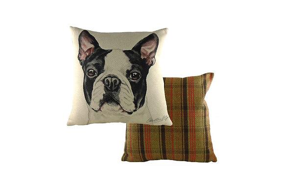 Waggydogz Boston Terrier Cushion