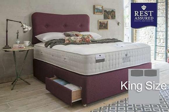 Rest Assured British Wool Softer Comfort King Size Divan