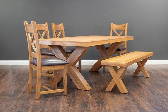 Honey B X dining table