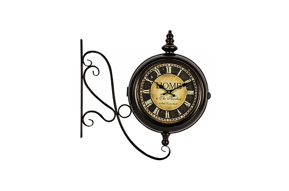 Home Station Wall Clock