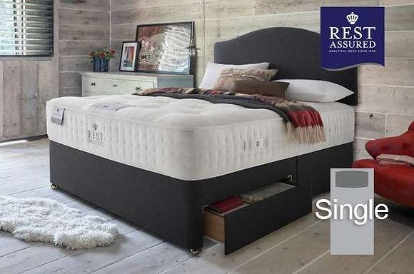 Rest Assured British Wool Firmer Comfort Single Divan