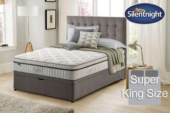 Silentnight Huxley Mirapocket Super King Size Divan bed with Latex