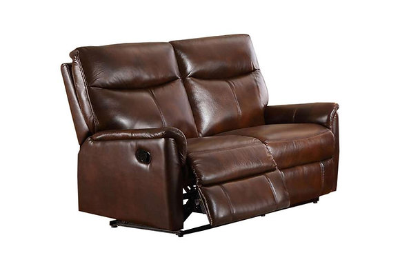 Graham Leather 2 Seater Power Recliner Sofa