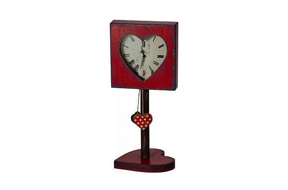 Heart Felt Clock Stand