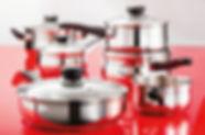 Judge Vista Cookware (pots, frying, pans)