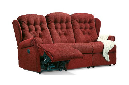 Sherborne Lynton Small 3 Seater Power Recliner Sofa