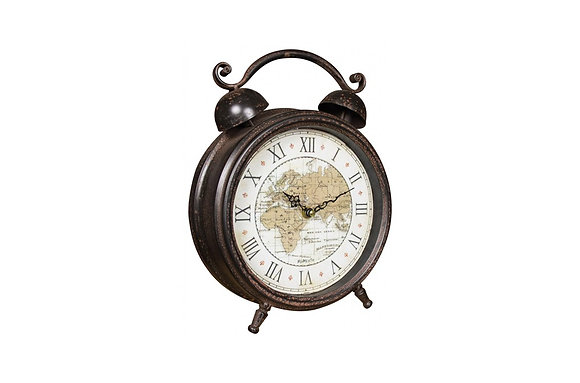 World Map Alarm Clock